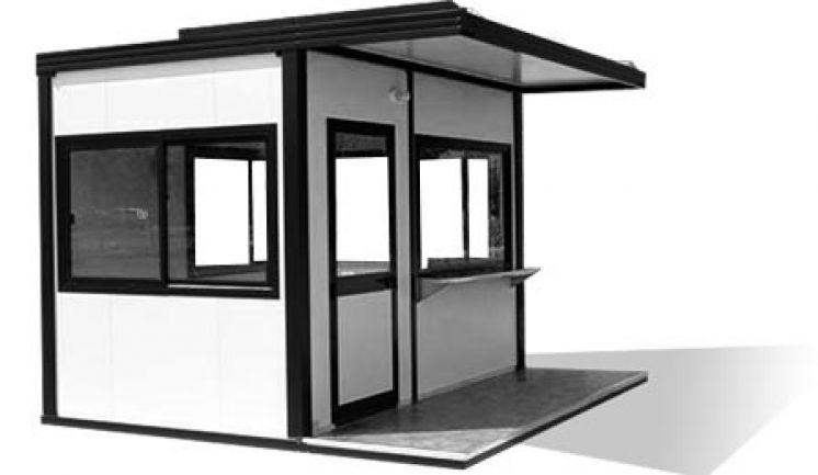 Le poste de garde est un des bungalows proposé par Bungalow Pro