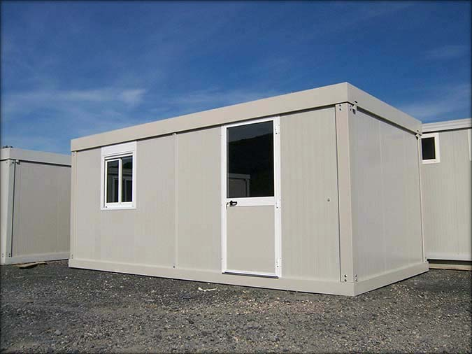 Bungalow pro vente bungalow de chantier containers et for Container bureau prix